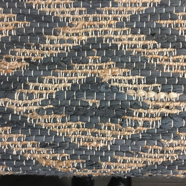 Tapis en jute et coton gris tapis bohostyle tapis en jute et coton tapis de couloir tapis naturel tapis 70x200cm tapis 140x180cm style bohème bohochic
