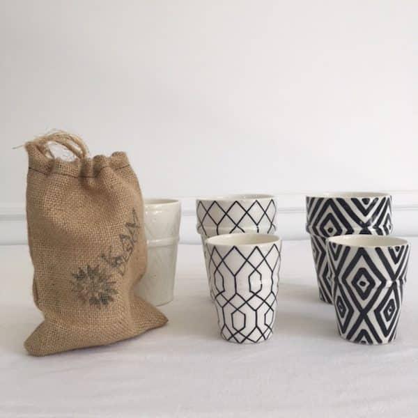 Bougies fabriquées artisanalement au Maroc Simonne Chic