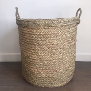 Panier du Maroc panière XXL en doum fabrication artisanale Beldi