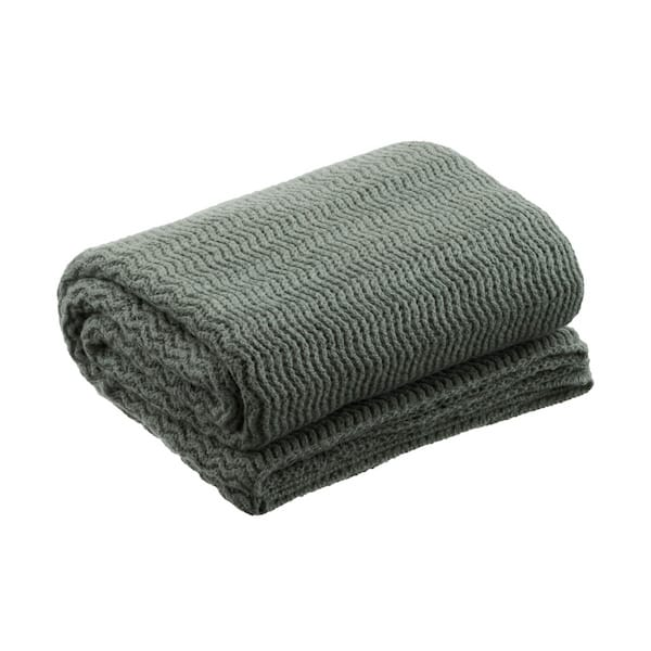 Plaid tricot Lichen La Maison de Lilo séléction Simonne Chic