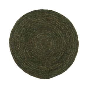 Set de table Olive rond en jute